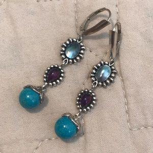 Jewelry - Sterling silver dangling earrings